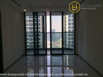 1-bedroom apartment without furniture in Vinhomes Central Park