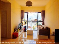 The Ascent Thao Dien two beds apartment cheap price for rent