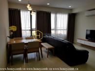 Căn hộ 3 phòng ngủ nội thất đơn giản cho thuê ở Masteri