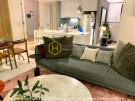 This gorgeous apartment in Gateway Thao Dien provides a spacious & cozy living space