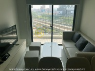 Simply designed apartment with reasonable rental price in Masteri An Phu