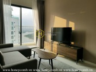 Simple style apartment with airy city & river view in Masteri An Phu