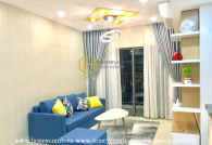 Masteri apartment for rent 3 bedroom,  luxury interior, lovely