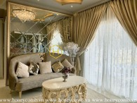 Royal style 2 bedrooms apartment in Masteri Thao Dien