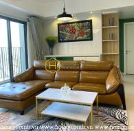Masteri Thao Dien 3 beds apartment with elegant furniture