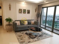 The 3 bedroom-apartment with specific design and reasonable price from Masteri Thao Dien