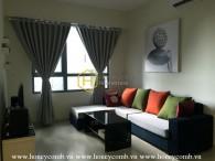 Masteri apartment for rent: Cozy and elegant furniture