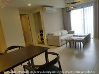 Modern apartment with city view in Masteri Thao Dien