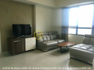 2 bedrooms apartment with simple furniture in Masteri for rent
