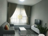 One bedroom apartment luxury interior in Masteri for rent