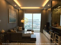 An impressively designed apartment with airy river view for rent in Tropic Garden