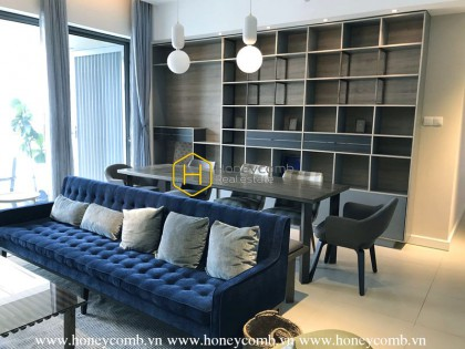 2 bedrooms apartment with modern design and nice view in Gateway Thao Dien