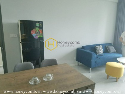 The 1 bedroom-apartment is blended of convenience and modernity in Masteri An Phu