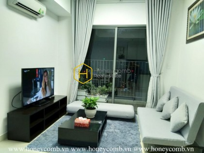 Simple 2 beds apartment with nice view in Masteri Thao Dien