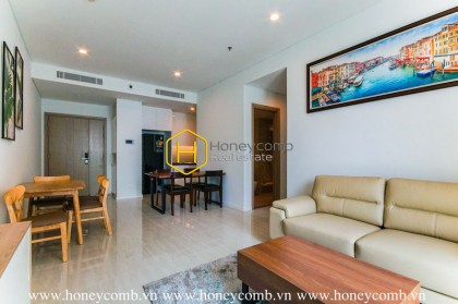 The warm and elegant 2 bed-apartment from Sala Sadora
