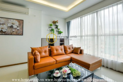 The 3 bedroom-apartment with Minimalism style in Thao Dien Pearl