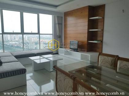 Convenient with 2 bedrooms apartment in Thao Dien Pearl for rent