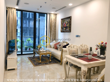 Welcome to this royal apartment in Vinhomes Golden River–Light filled charm–Deluxe design