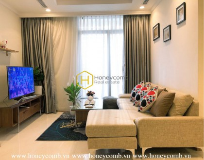 Spacious & Cozy apartment in Vinhomes Central Park that best suits family