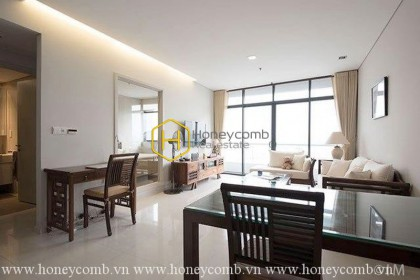 Bright elegant apartment with 1 bedroom in City Garden for rent