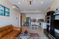 Visit the apartment in Diamond Island with a trendy and splendid design