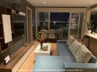 Explore brilliant city view with this amazing apartment in Diamond Island