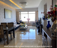 This Saigon Pearl apartment promises to bring an enjoyable experience to your own home
