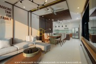 You will be given a spacious space to reside in this top Thao Dien Pearl apartment