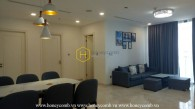 The beauty of this apartment for rent in Vinhomes Golden River will stick in your mind