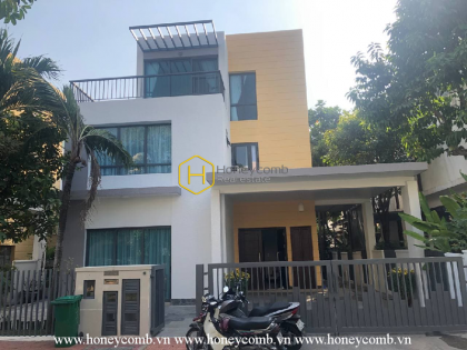 An idyllic villa that brings you a peaceful atmosphere in District 2