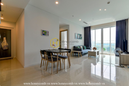 The lovely and fresh 2 bed-apartment for lease at Sala Sadora