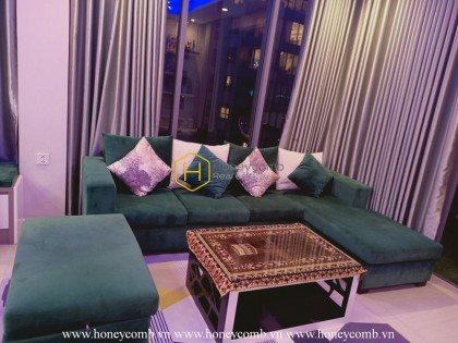 Explore the urban vibes in this modern Diamond Island apartment
