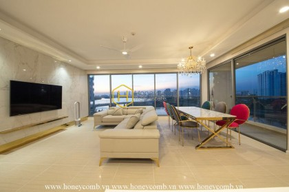 White-Pink in your area ! A trendy choice for your living space at Diamond Island