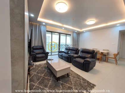 4 bedrooms apartment with luxury design and furniture in Gateway Thao Dien
