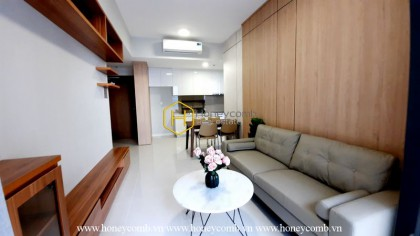Enjoy a peaceful and romantic space right at the Masteri An Phu apartment