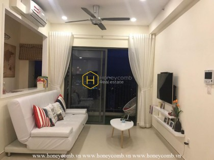 The 1 bed-apartment with warm fresh tone and exquisite style at Masteri Thao Dien