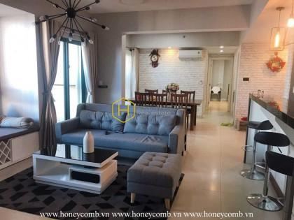Linkable 3 bedroom apartment with hight floor in Masteri Thao Dien