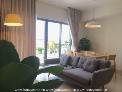 A Masteri Thao Dien apartment for rent with romantic vibe