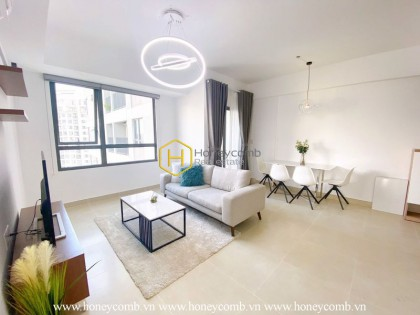 Cheer your mood up with this youthful Masteri Thao Dien apartment