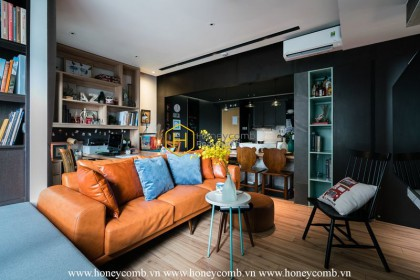 Luxurious is not enough to describe the level of this Masteri Thao Dien apartment