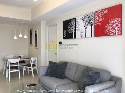 Fully furnished two bedroom apartment in Masteri for rent