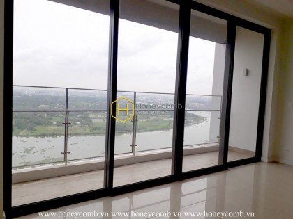 Unfurnished apartment with an extraordinary view from The Nassim for rent