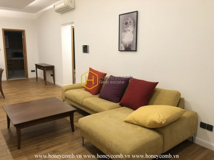Beautiful apartment in Saigon Pearl makes all residents give their heart away