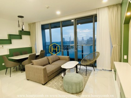 Brilliant apartment for rent in Sunwah Pearl