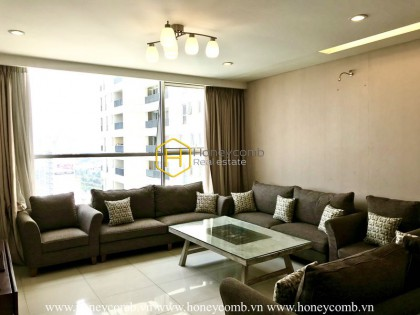 Thao Dien Pearl apartment for rent- symbol of tranquil architecture