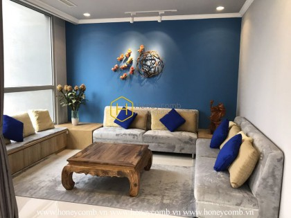 Feel the modernity in this stunning apartment  in Vinhomes Central Park