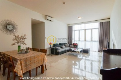 The Vista apartment- a great combination of modernity and classic