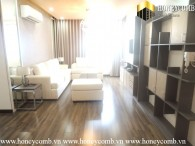 Three beautiful beds apartment with modern furniture in Tropic Garden for rent.