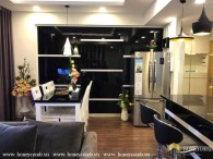 Modern furniture and nice view apartment for rent in Masteri Thao Dien