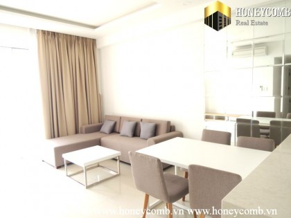 Fantastic three beds apartment with high floor in Tropic Garden for rent.